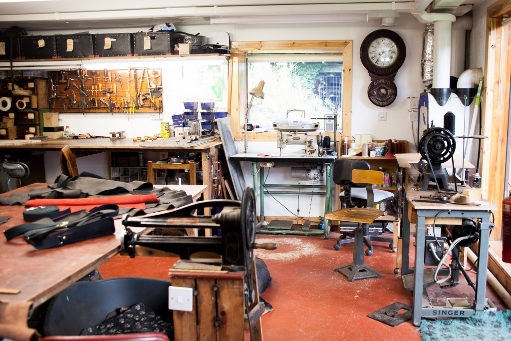 John J Dick Leather Goods Workshop Lochgelly Fife