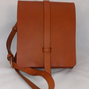Dark Tan Small Book Bag