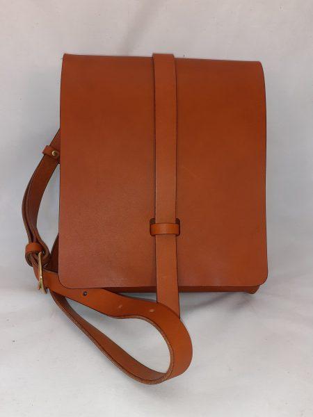 Dark Tan Small Book Bag